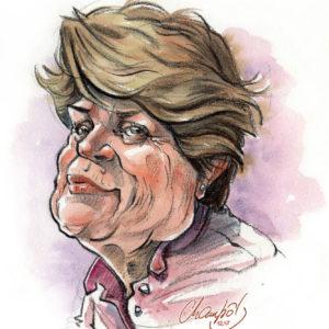 Caricature-couleur-Femme-3