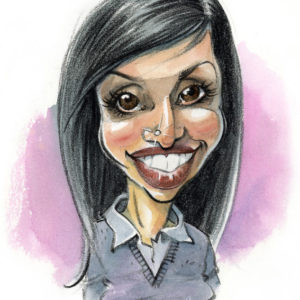 Caricature-couleur-Femme-5