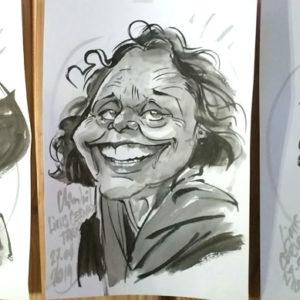 Trois caricatures