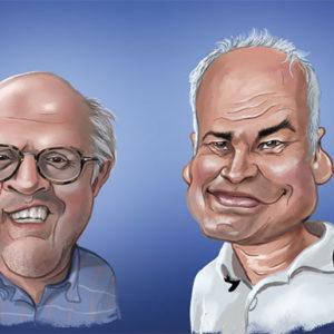 Caricature numérique d'un groupe sur Photoshop