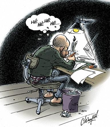 Champol dessinateur de Presse