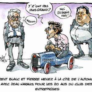 Laurent et Bernard Menez à Mulhouse