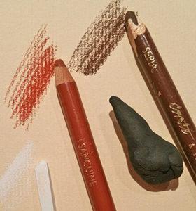 Technique des 3 crayons