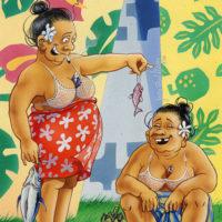 Carte Postale Tahiti-1