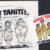 Carte postale Tahiti par champol