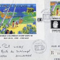 Timbre sur la Polynésie par Champol