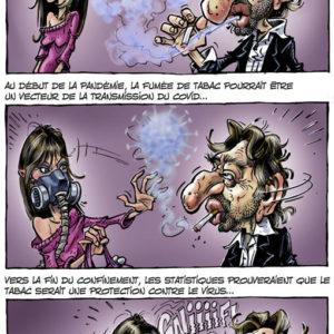 Les bienfaits du tabac contre le Corona virus